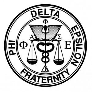 Phi Delta Epsilon logo