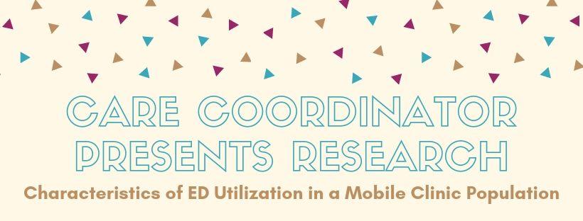 Care Coordinator Presents Research
