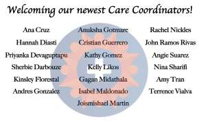 Introducing the newest members of our Care Coordination team!